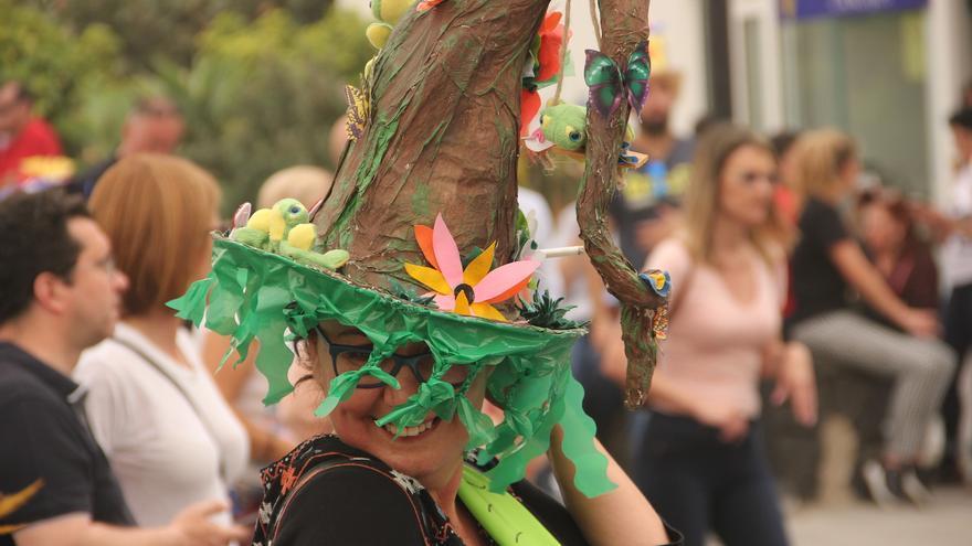 Participante en la 'Fiesta de La Pamela' de Breña Baja.