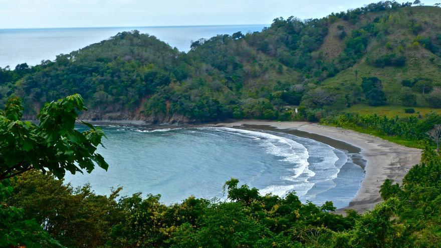 Playa en la Península de Nicoya. Marissa Strniste