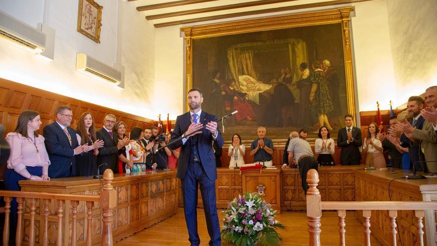El candidato del PP, José Francisco García, es el nuevo alcalde de Caravaca