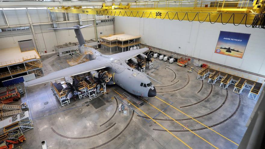 Airbus incrementará con 92 contrataciones la plantilla de taller de la factoría de San Pablo