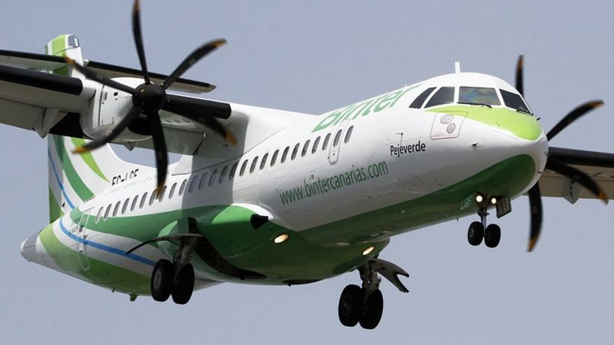 En la imagen, un avión de la aerolínea.