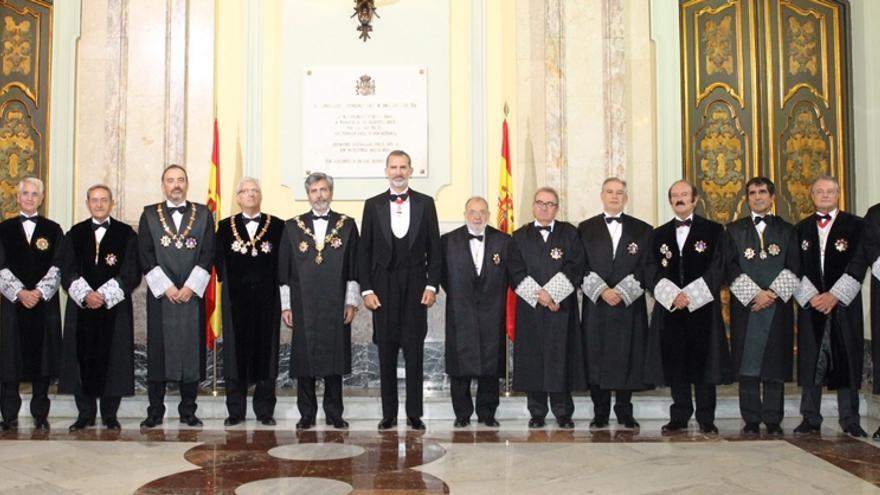 Apertura de año judicial. FOTO: Casa Real