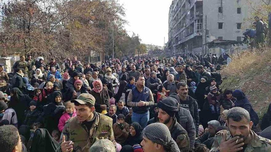 ONU: Cientos de hombres desaparecidos en zonas en manos del régimen en Alepo