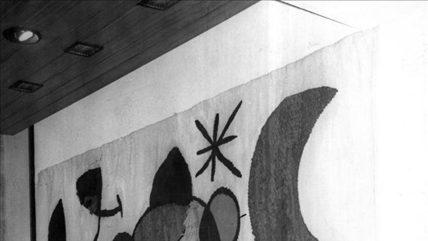 """El """"Tapiz de Tarragona"""" de Miró y Royo se exhibirá en Londres"""