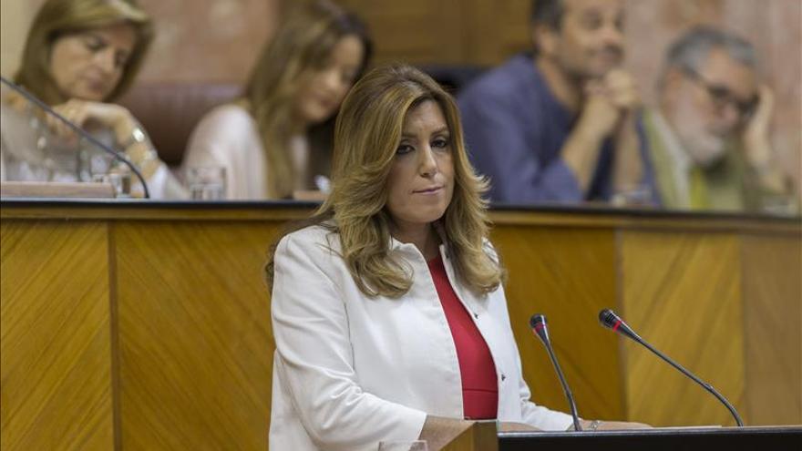 """Díaz apremia a la oposición a """"desbloquear"""" la formación de Gobierno en Andalucía"""