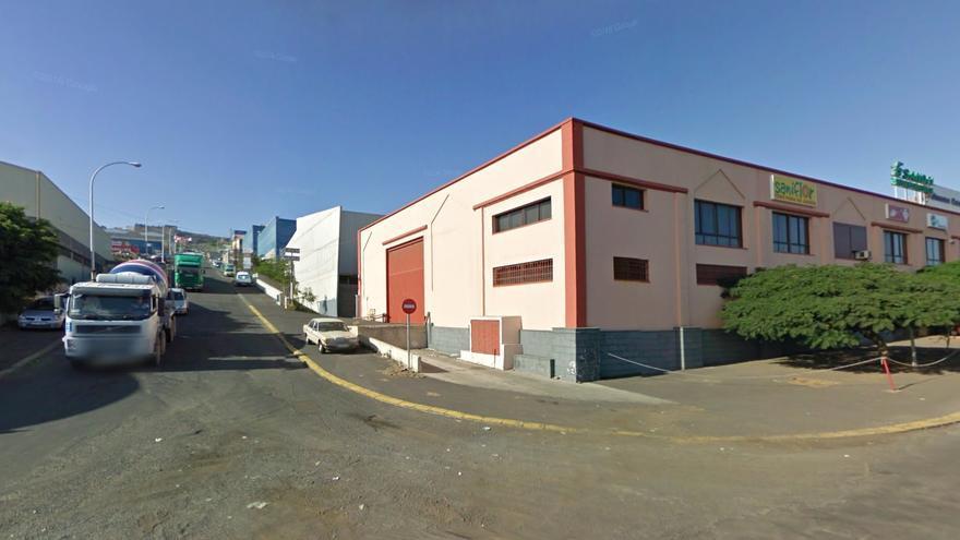 Nave industrial en el polígono La Campana, en Tenerife