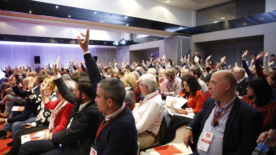 Votación en el Comité Federal en la que no ha participado parte de la delegación andaluza.