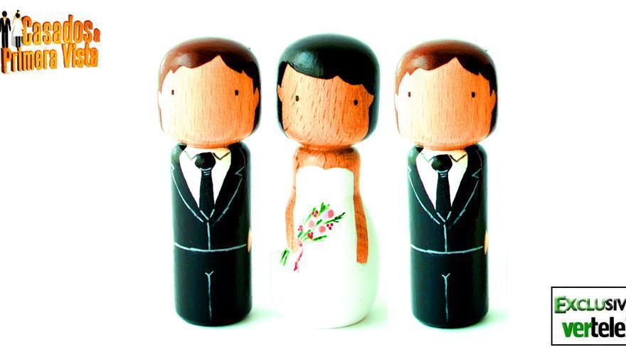 No es una inocentada: 'Trío' en los nuevos 'Casados a primera vista'