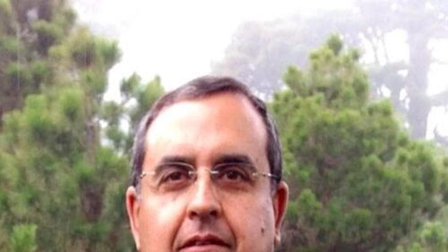 Juan Miguel Padrón, alcalde de El Pinar.