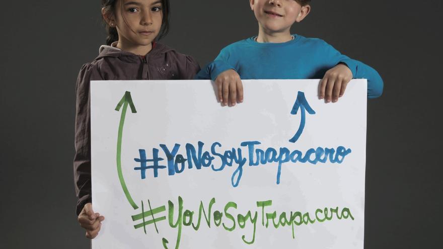 Imagen de la campaña 'Yo no soy trapacero'.   ©Fundación Secretariado Gitano
