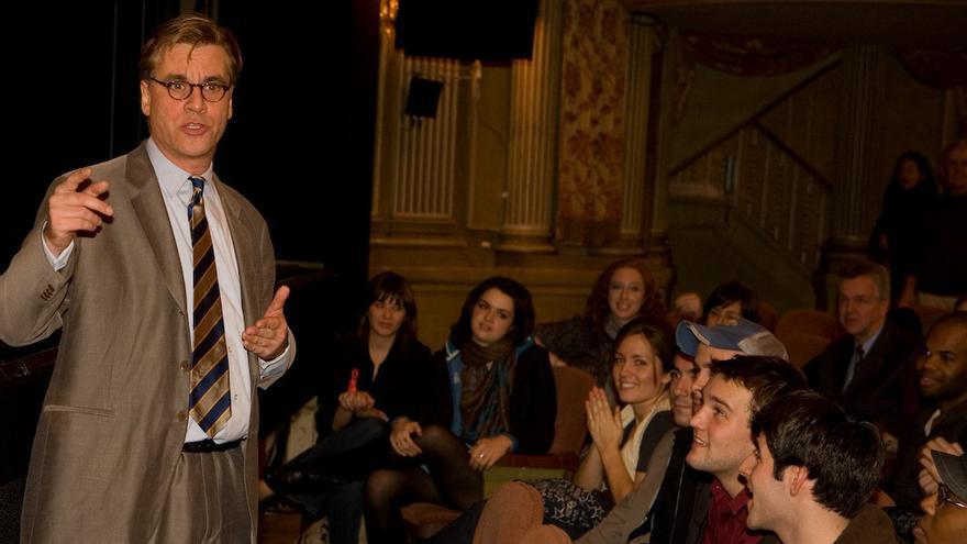 El guionista y creador estadounidese de series de ficción Aaron Sorkin