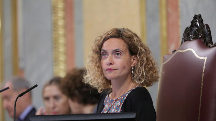 La presidenta del Congreso de los Diputados, Meritxell Batet, este fin de semana.