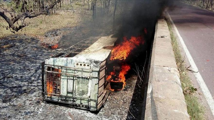 Al menos 22 muertos en un accidente de autobús en el centro de la India
