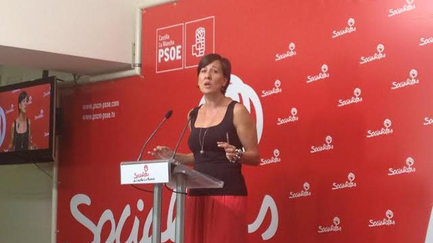 Blanca Fernández, secretaria de Educación del PSOE Castilla-La Mancha. / Foto: Javier Robla.