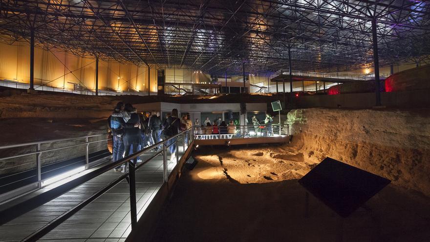 Una actuación en el Museo y Parque Arqueológico Cueva Pintada.