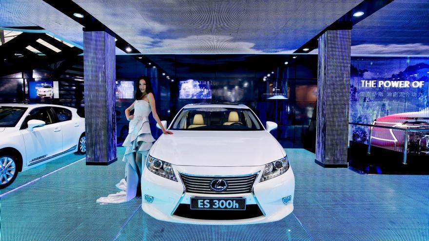 Toyota reducirá la producción de Lexus para el mercado chino tras disturbios