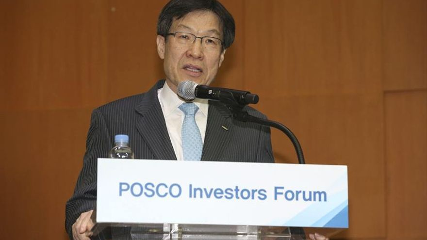 """Interrogan al presidente de la mayor acería surcoreana por """"Choi Soon-sil Gate"""""""