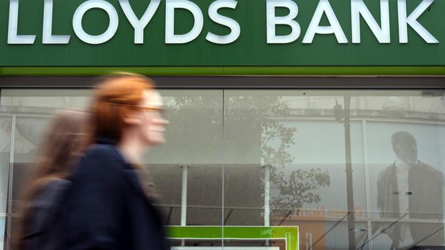 El Gobierno británico reduce su participación en el Lloyds a menos del 8 por ciento