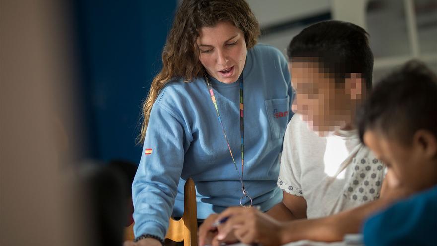 Centros de menores inmigrantes no acompañados
