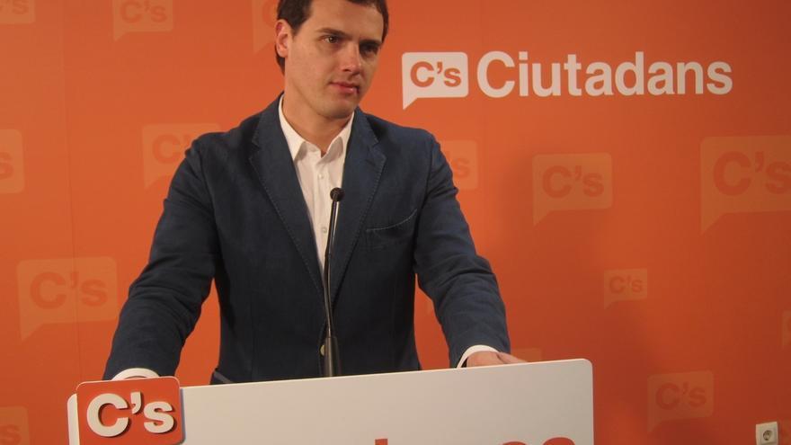 """Albert Rivera (C's): """"No venimos a decir lo mismo que PP y PSOE, venimos a hacer lo que no han hecho"""""""
