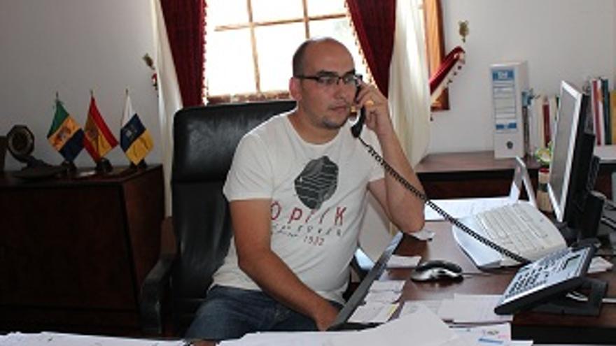 Yeray Rodríguez, alcalde de Garafía.