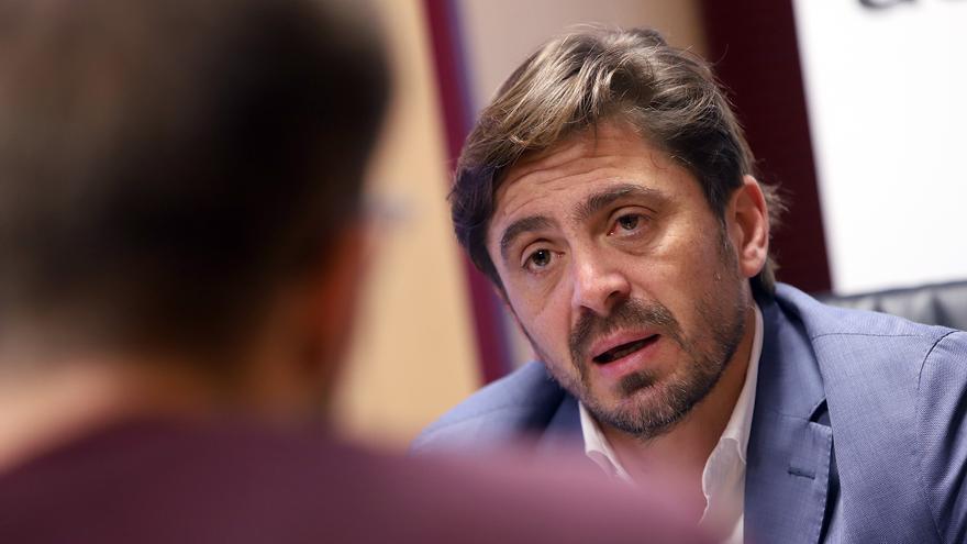 Jorge Marichal, en una de sus respuestas a las preguntas del periodista Fabián Sosa