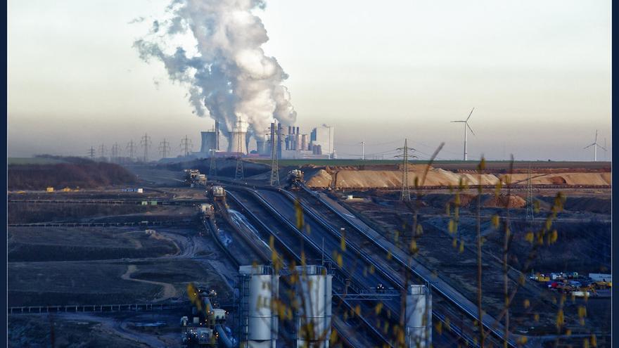 Imagen de la mina a cielo abierto de Garzweiler.