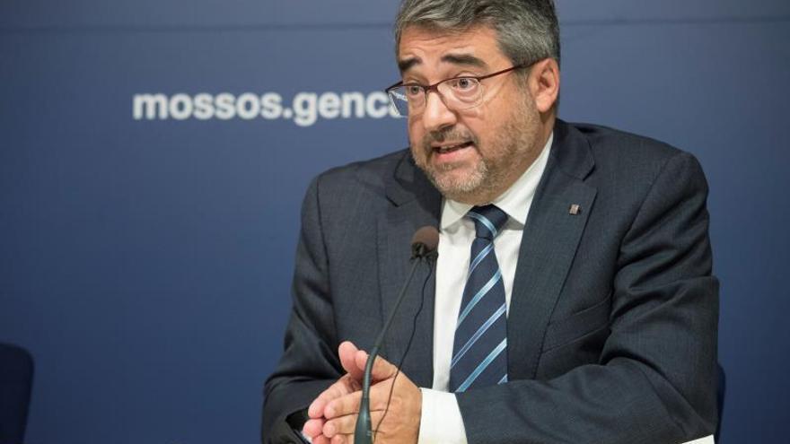 El hasta ahora director de los Mossos, Andreu Martínez.