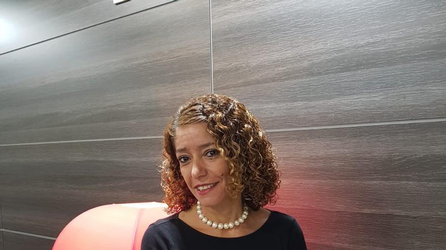 La letrada Sandra Rodríguez, que representa a dos de los denunciantes en el caso Grúas.