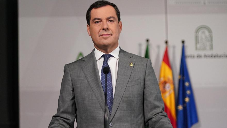 Moreno sugiere que Andalucía se confinará perimetralmente antes del puente y modificará el horario del toque de queda