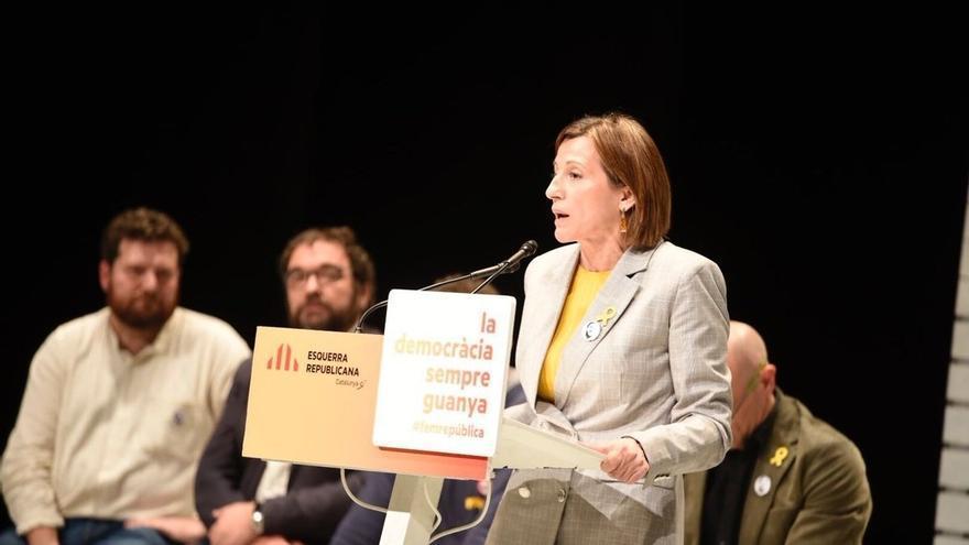 """Forcadell (ERC) sobre Cs: """"No permitiremos que gobiernen los que dividen"""""""
