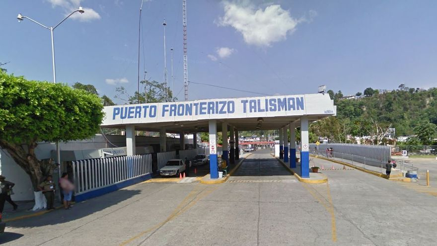 Imagen de uno de los puestos fronterizos de la frontera de Guatemala | Google Maps