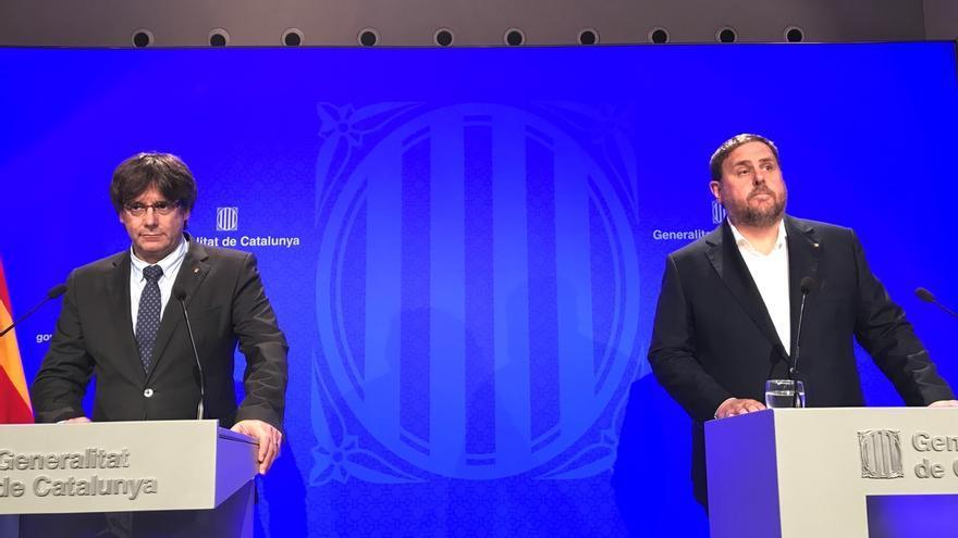 Govern, Forcadell y Colau envían una carta a Rajoy y al Rey para pactar el referéndum