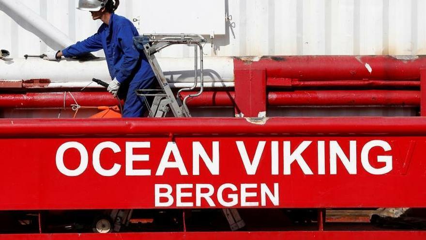 El Ocean Viking asume el desafío pendiente del Aquarius