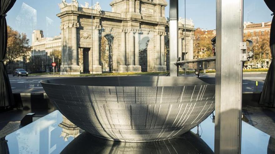 La mayor impresora 3D del mundo reproduce la Estrella de la Muerte en Madrid