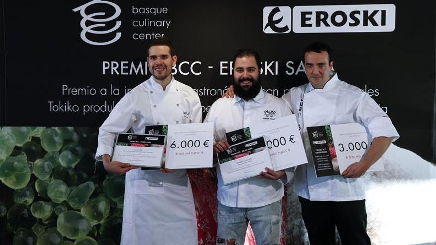Jesús Villarejo, de Ciudad Real, gana el V premio Basque Culinary Center-Eroski