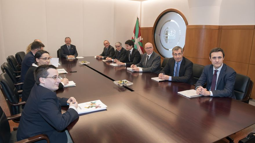 Reunión del Consejo Vasco de Finanzas