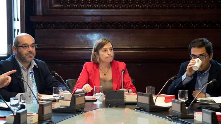 La Junta Portavoces de Parlament se reúne el lunes para fijar primer pleno post 1-O