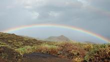 Un arco iris en La Palma.