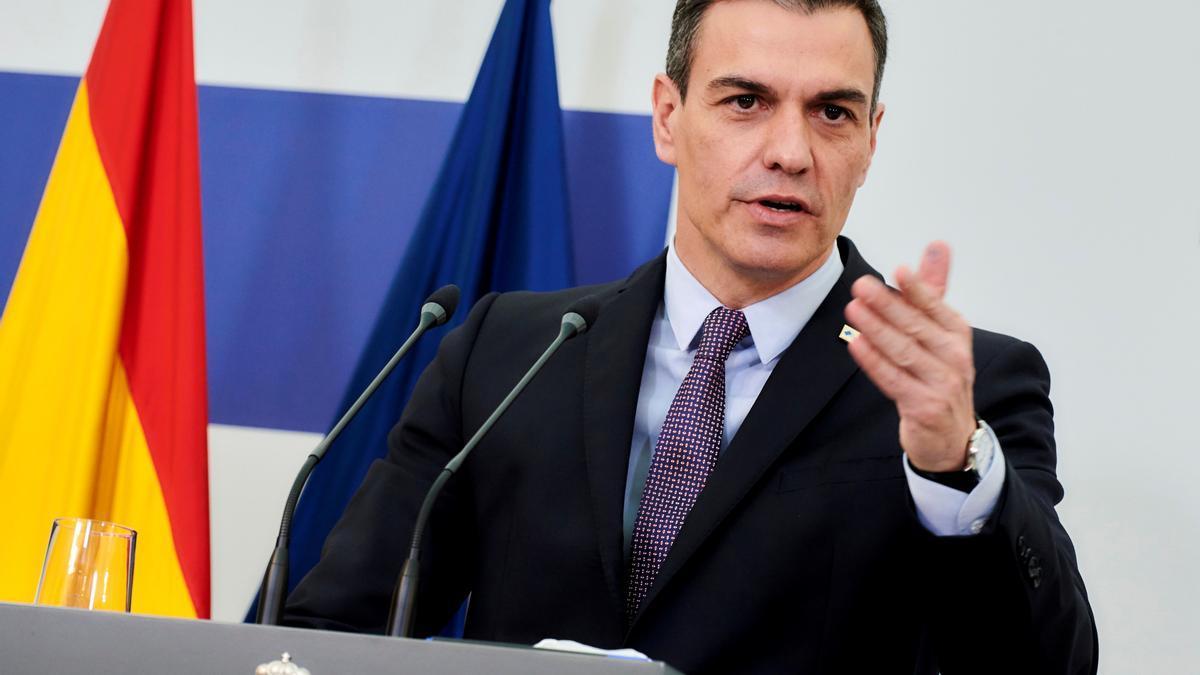 El presidente de Gobierno, Pedro Sánchez.