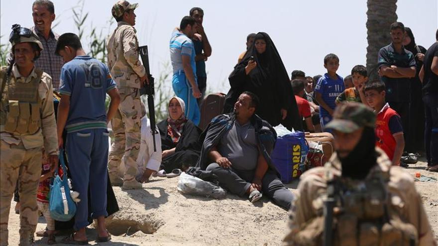 Yihadistas matan a 28 policías iraquíes tras un nuevo avance al oeste de Bagdad