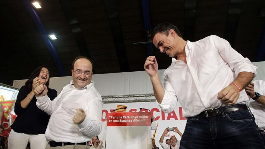 Sánchez pide afrontar el 27S como generales para iniciar el cambio en España