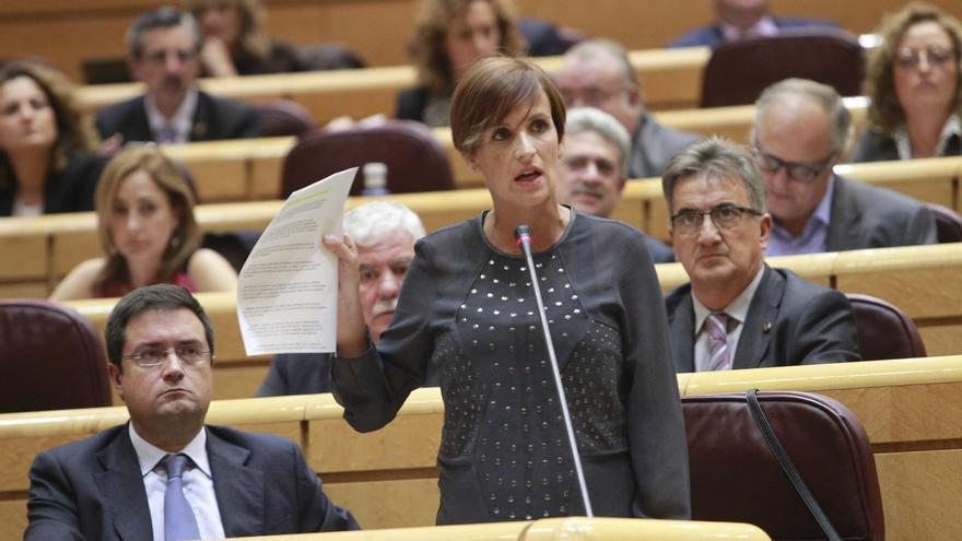 """La portavoz del PSOE en el Senado pide la dimisión de Monago por """"falta de ética total"""""""
