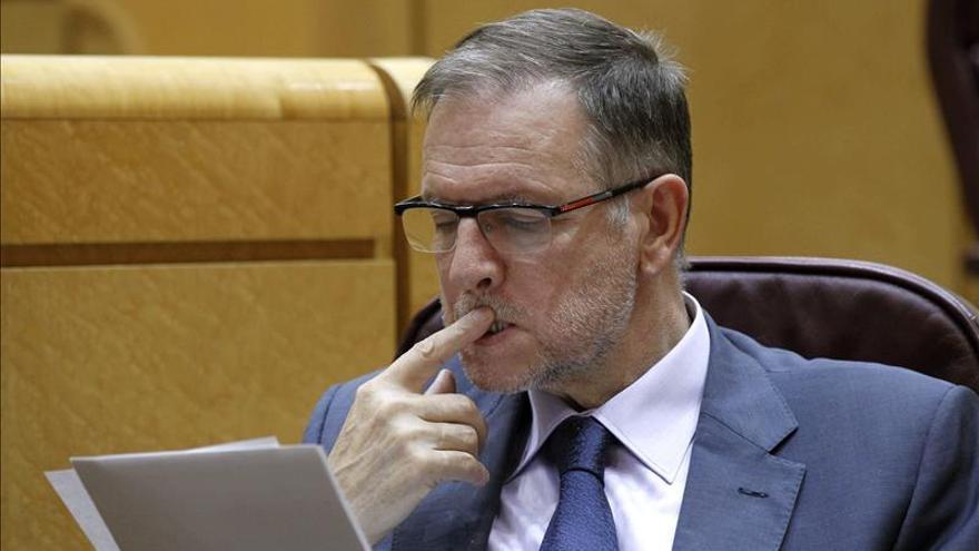 """Marcelino Iglesias subraya que """"con Rajoy, todo está peor que hace dos años"""""""