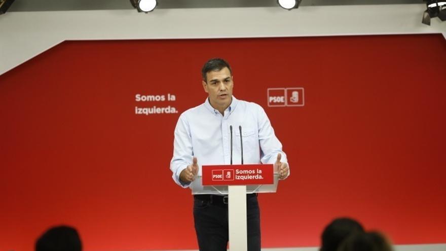 """Pedro Sánchez critica a Colau: """"Hay momentos en que uno debe saber dónde está. Nosotros al lado de la legalidad"""""""