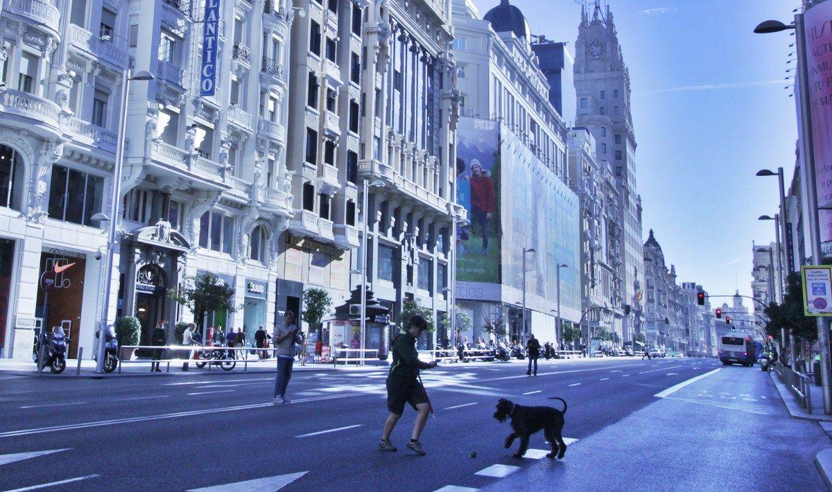 Gran Vía sin coches en 2015 | SOMOS MALASAÑA