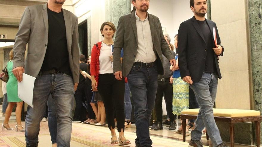 Los votantes de Unidos Podemos puntúan mejor a Garzón y Domènech que a Pablo Iglesias