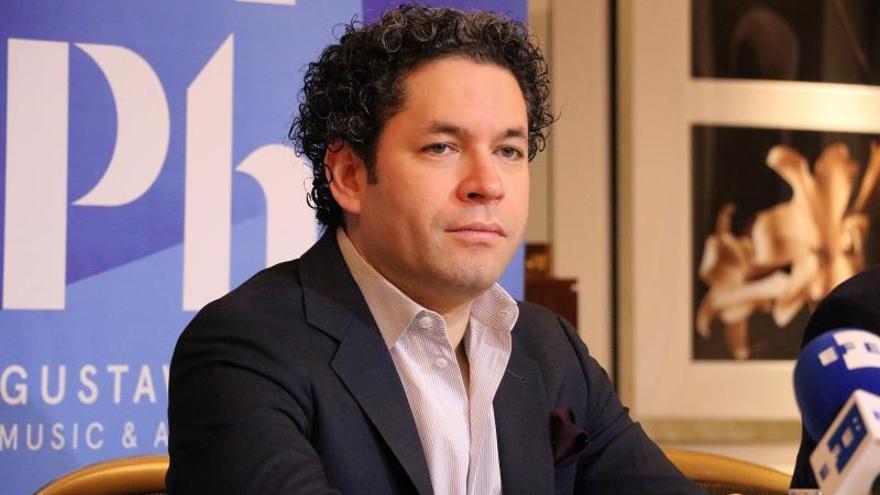Gustavo Dudamel, músico y activista venezolano.
