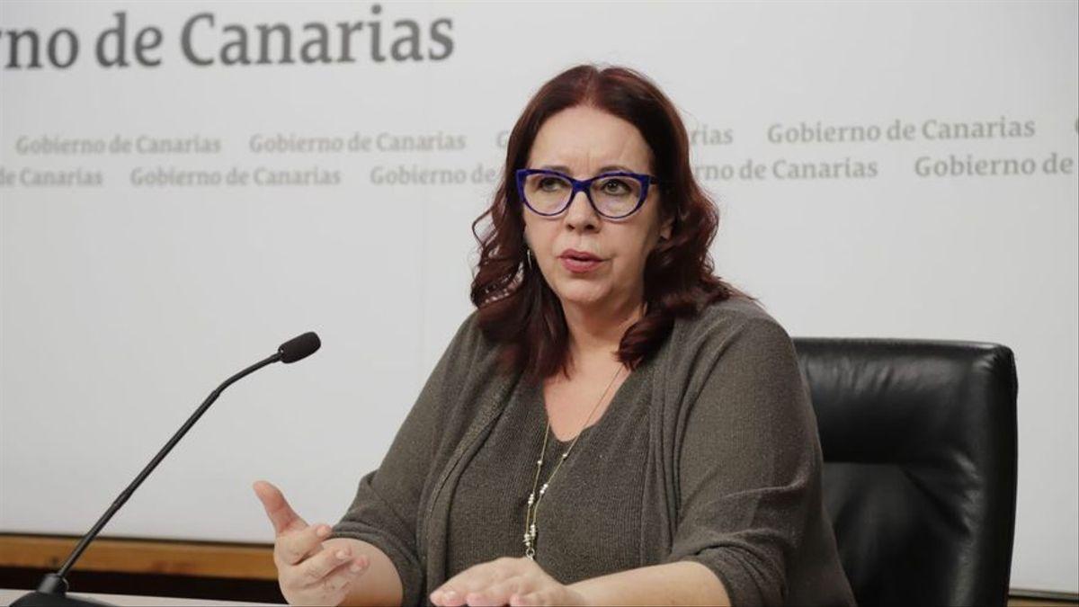 La consejera de Educación de Canarias, Manuela Armas.