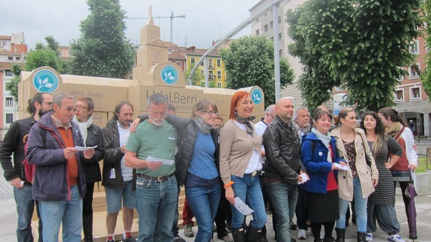 """UdalBerri defiende """"hacer política de otra manera"""" con la llegada de los ciudadanos al Ayuntamiento de Bilbao"""